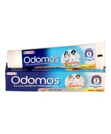 Dabur Odomos Mosquito Repellent Cream With Vitamin E - 50 gm