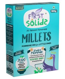 First Solids Organic Millets Cereal - 300 gm