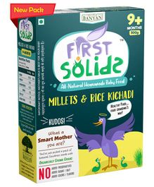 First Solids Organic Millets & Rice Kichadi - 300 gm