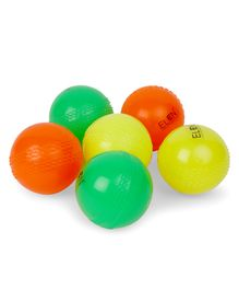 Elan Wind Ball Pack of 6 - Multicolor