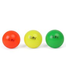 Elan Wind Ball Pack Of 3 - Green Orange Yellow