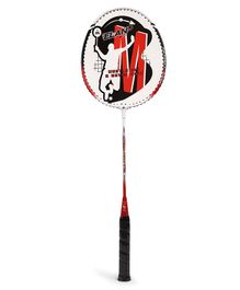 Elan Badminton Racket With Bag Cover - Red