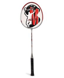 Elan Badminton Racket With Three Fourth Cover - Red