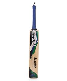 Elan Full Size Blaster Cricket Willow Bat - Blue