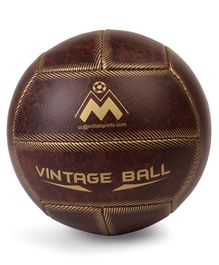 Elan Vintage Leather Look Alike Football - Brown