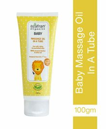Azafran Baby Massage Oil - 100 gm