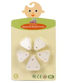 Adore Electrical Socket Cover Pack of 5 - Beige