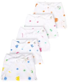 Tinycare Cloth Nappy Comfort Junior Small Set Of 5