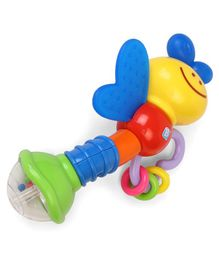 BKids Love Bug Rattle & Teether (Color May Vary)