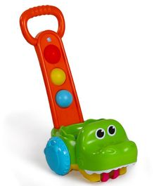 BKids Gator Scoot N Scoop Push Along Toy - Multicolour