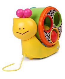 BKids Speedy Magical Pull Along Toy - Yellow