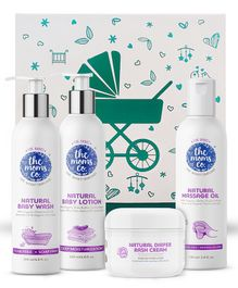 The Moms Co Care Kit With Ribbon Gift Box - Pack of 4