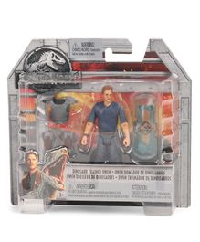 Jurassic World Owen Figure  & Body Armour Set - Height 10 cm