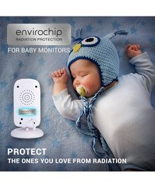 Envirochip Radiation Protector Chip For Baby Monitor Pack of 2 - Silver