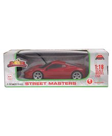 Mitashi Dash Street Masters 1 DS Remote Control Model Car - Red