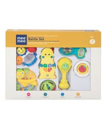 Mee Mee Joyful Musical Rattle Set Of 7 - Multi Color