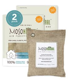 Moso Natural Air Purifying Bag Pack of 2 - Covers Up to 90 Square Feet