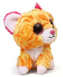 Wild Republic Sassy Scents Tiger Soft Toy Yellow White - 15 cm