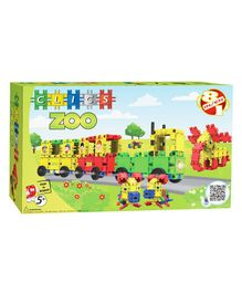 Clics Zoo Building Set Multicolour - 108 Pieces