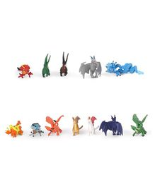Wild Republic Nature Tube Dragons Pack Of 12 - Multicolor