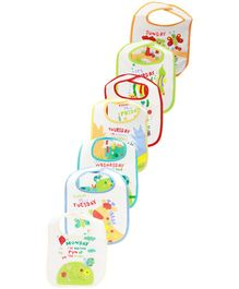 Mee Mee Absorbent Weaning Bibs - Pack of 7