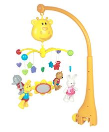 Mee Mee 3-In-1 Musical Animal Cot Mobile - Multicolor