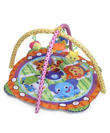 Mee Mee Versatile Baby Play Gym Mat Animal Print - Multi Colour