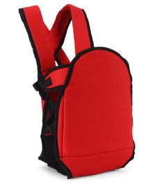 2 Way Smart Rider Baby Carrier - Red & Black