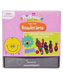 PodSquad Bowlerama Game - Multicolor