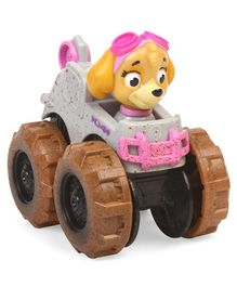 Paw Patrol Skye Pup With Monster Truck - Pink Brown