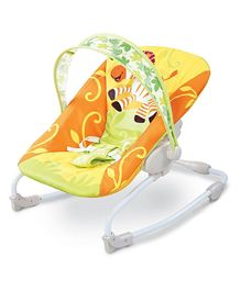 Webby Newborn to Toddler Portable Baby Rocker - Yellow