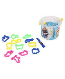 Ratnas Crazy Sand Mould Set - 400 gm (Color May Vary)