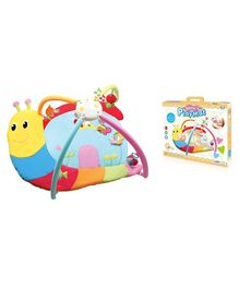 Toys Bhoomi Twist And Fold Junior Snail Melodies & Lights Baby Activity Gym - Multicolour