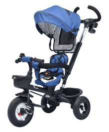R for Rabbit Tiny Toes Benz The Stylish And Luxurious Tricycle - Blue