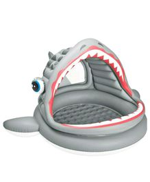 Intex Roaring Shark Shade Pool - Grey