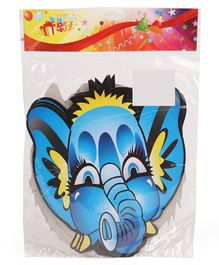 B Vishal Paper Face Mask Animal Shape Pack of 10 - Multi Colour