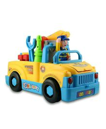 Yamama Bump N Go Tool Truck Toy - Multicolour