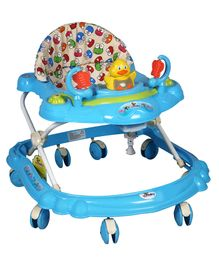 Sunbaby Musical Walker Frog Print - Blue (Print of Cloth May Vary)
