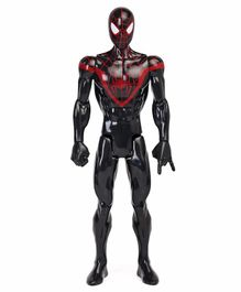 Marvel Titan Power Kid Arachnid Action Figure Black & Red - Height 29 cm