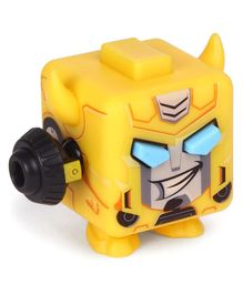 Transformers Fidget Its Bumblebee Cube Yellow - Height 5 cm