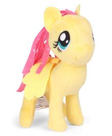 My Little Pony Fluttershy Plush Toy Yellow - Height 9 cm