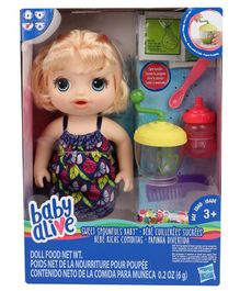 Baby Alive Sweet Spoonfuls Baby Doll Set Multicolor - 31 cm