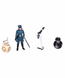 Star Wars Rose First Order Disguise Action Figure Blue - 9 cm