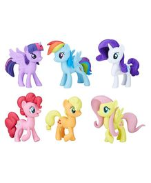 My Little Pony Character Figurine Set of 6 - Multicolour