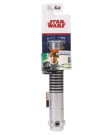 Star Wars Luke Skywalker Lightsaber Silver - Height 78 cm