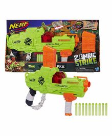 Nerf Zombie Revreaper With Darts - Green