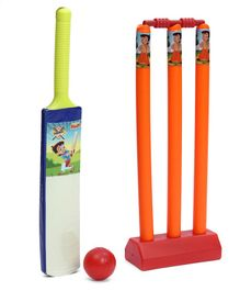 Chhota Bheem Cricket Set - Blue Orange