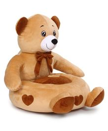 Benny & Bunny Teddy Bear Sofa Seat - Light Brown
