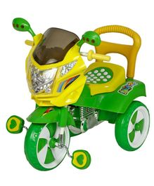 Dash Musical Tricycle With Light & Under Seat Storage Space - Green