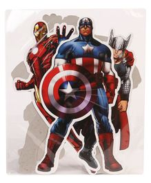 Marvel Avengers Cut Out Pack of 4 - Multicolour
